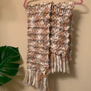 Oversized Knit Scarf/Wrap
